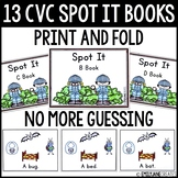 CVC Spot It Books (Print and Fold)