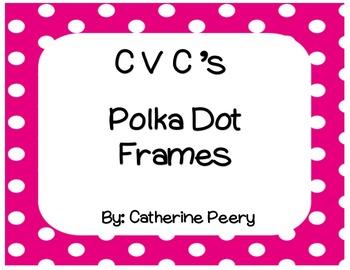 CVC Square Polka Dot Frames