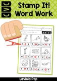CVC Stamp It! Word Work Center