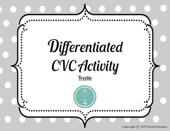 Differentiated CVC Freebie
