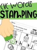 CVC Stamping Station: Using Vowels