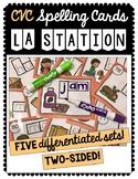 CVC Station Spelling Cards