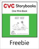 CVC Storybook - 1 Mini-Book - GET SET - set 2.1 book 2