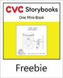 CVC Storybook - 1 Mini-Book - JAM - set 3.1 book 2