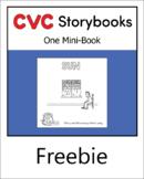 CVC Storybook - 1 Mini-Book - SUN - set 1.1 book 5