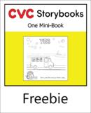 CVC Storybook - 1 Mini-Book - YES - set 3.2 book 5