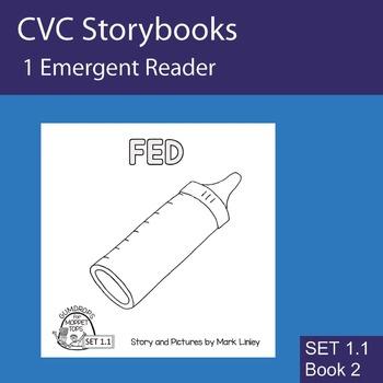 1 Emergent Reader ~ SET 1.1 Book 2 ~ FED