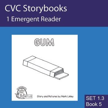 1 Emergent Reader ~ SET 1.3 Book 5 ~ GUM