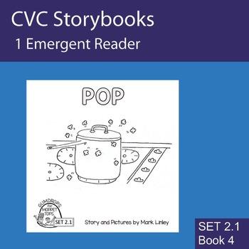 1 Emergent Reader ~ SET 2.1 Book 4 ~ POP