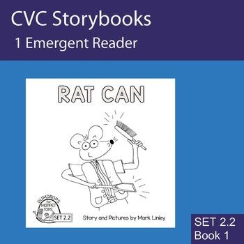 1 Emergent Reader - Set 2_2_1 - RAT CAN