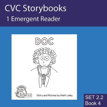 1 Emergent Reader ~ SET 2.2 Book 4 ~ DOC