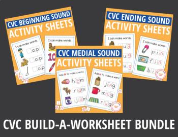 CVC Super Bundle: CVC Word Family Activities