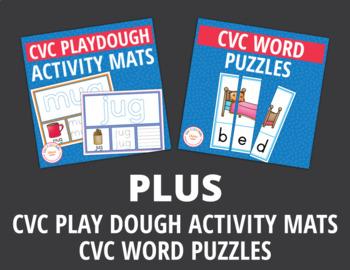 CVC Word Family Activities Mega Bundle