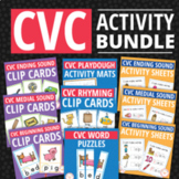 CVC Super Bundle: CVC Word Family Activities