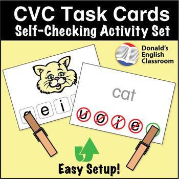 ESL Games - CVC Task Cards