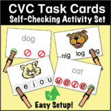 ESL Games - CVC Task Cards