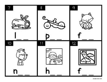 CVC Task Cards: Short O (Scoot, Write the Room, Center)