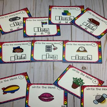 Blend Task Cards