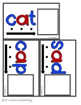 CVC Task Cards [Task Box]