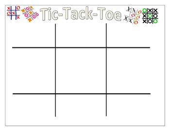 CVC Tic-Tack-Toe