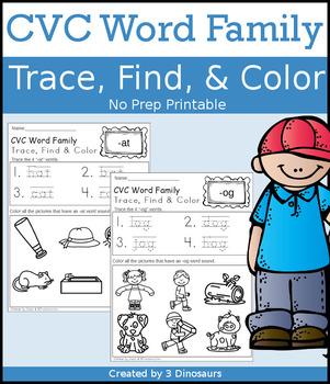 CVC Trace, Find, & Color