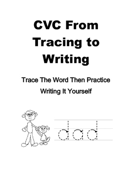 CVC Tracing and Writing Practice