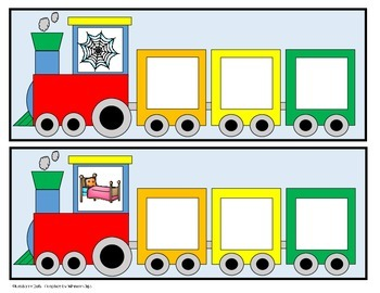 CVC Trains - Word Building - Short e