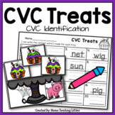 CVC Treats - CVC Word Identification