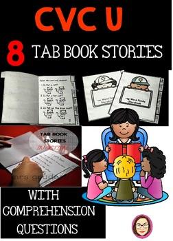 CVC U EASY TO READ TAB BOOK STORIES