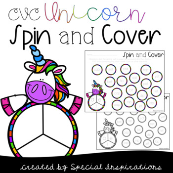CVC Unicorn Spin and Cover Games