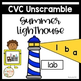 CVC Unscramble Summer Lighthouse Center