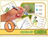 "Vocabulary: Phonics Task Cards (CVC Short ""O"") RF.K.2d"