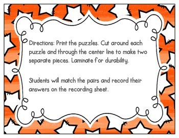 CVC Vocabulary Puzzles: Short E Set