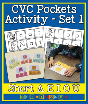 CVC Pockets Activity Vol. 1