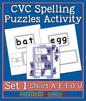 CVC Puzzles Activity Vol. 1