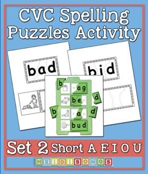 CVC Puzzles Activity Vol. 2