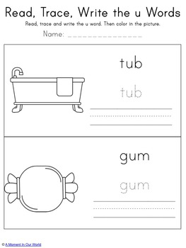 CVC Vowel Bundle