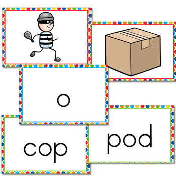 CVC Vowel Sound Slap-It! Card Game