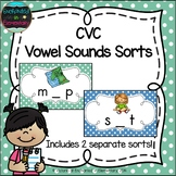 CVC Vowel Sounds Sorts