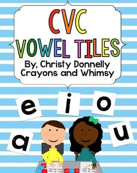 CVC Vowel Tiles