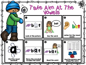 CVC Real and Nonsense Words: Medial Vowels