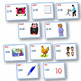 CVC WORD FAMILIES ~ Onset and rime rhyming strings PowerPoints