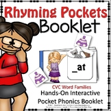 CVC WORD FAMILY RHYMING POCKETS