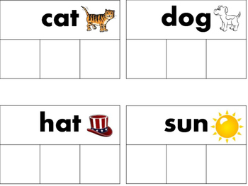 CVC WORD STAMPS (TWO DIFFERENT VERSIONS)