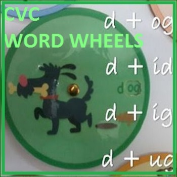 WORD WHEELS - CVC