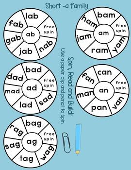 Short Vowel CVC Words
