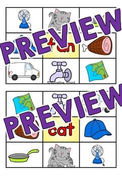 CVC WORDS CLIP CARDS: SHORT A, SHORT E, SHORT I, SHORT O & SHORT U
