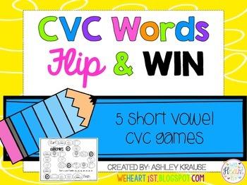 CVC WORDS Flip & Win