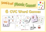 CVC WORDS GAME PACK to Print and Play