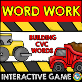 CVC WORDS BUILDING GAME (DIGITAL MAGENTIC LETTER ACTIVITIES)